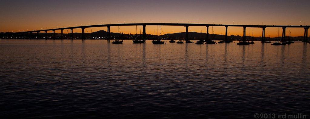 Sunrise @ Coronado Bridge