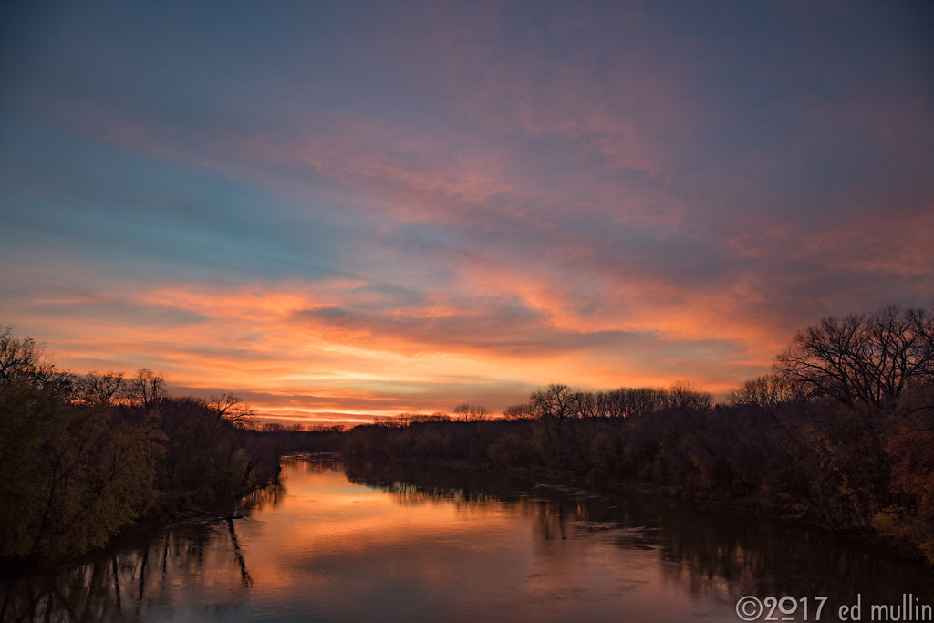 Sunset, Minnesota River